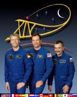 International Space Station Expedition 14 Official Crew Photograph #1